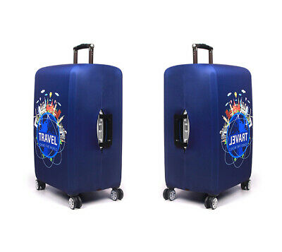 "Travel Luggage Suitcase Cover Protector Thick Elastic Trolley Case Cover 18-32"" 6"