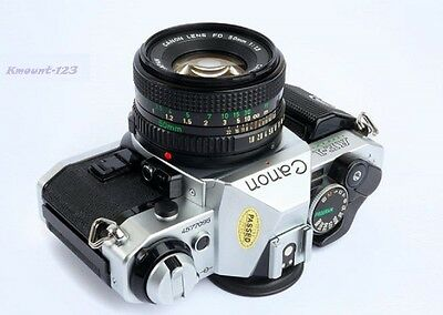 Canon AE-1 Program Camera Outfit with FD 50mm F/1.8 Lens - Great Conditions ! 3
