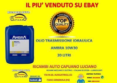 Olio Trasmissione Ambra Multi G 10W30 20Lt New Holland 2