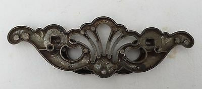 Antique Hardware Vintage Brass Batwing Chippendale Drawer Pull 3 1/2 inch center 5
