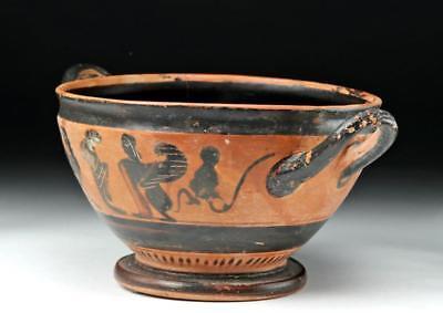 Greek Attic Black-Figure Skyphos - CHC Group Lot 11A