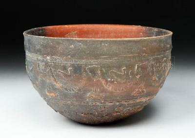 Large Hellenistic Greek Megarian Pottery Bowl Lot 32A
