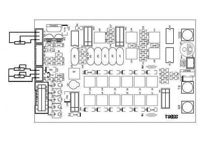 1PC 6-band HF SSB Shortwave Sadio Shortwave Radio Transceiver Board DIY Kits