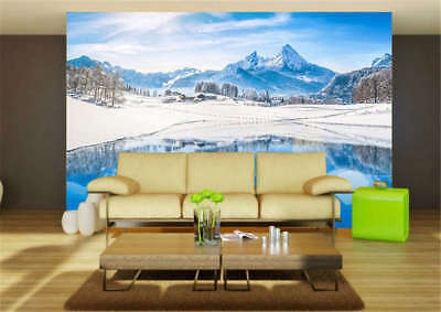 Smooth Concise Lake 3D Full Wall Mural Photo Wallpaper Printing Home Kids Decor