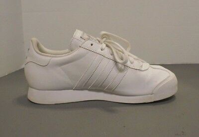 ADIDAS ORIGINALS SAMOA Size 6 J Big Kids White Running Shoes G99720