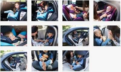 Siège Lionelo Bastiaan Isofix Bleu Bébé de Voiture Groupe 0 Iil Jusqu'à 36kg 10