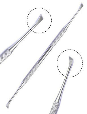 Professional DENTAL 4 PIECE-SCALERS Probe-Pick SET + Mouth Mirror STEEL Tool KIT
