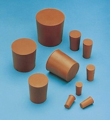 Rubber Bungs Stoppers Laboratory Solid Stoppers Various Sizes *Multi Listing* 3