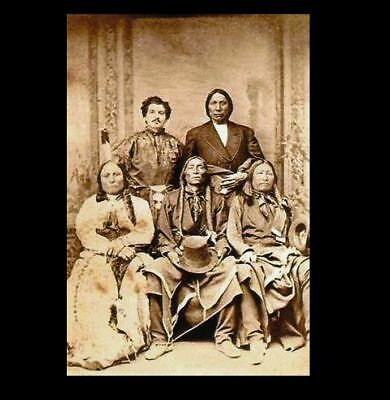 Sitting Bull, Chief Red Cloud PHOTO Spotted Tail, Swift Bear Native American 2