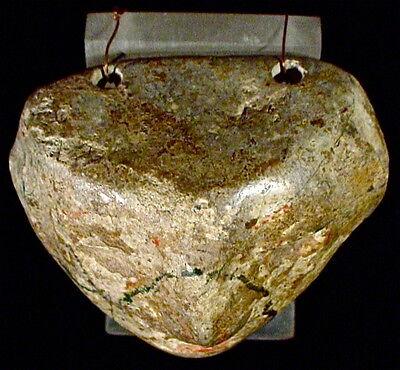 Pre-Columbian STONE PECTORAL GUERRERO EX: SOTHEBY'S '77 5