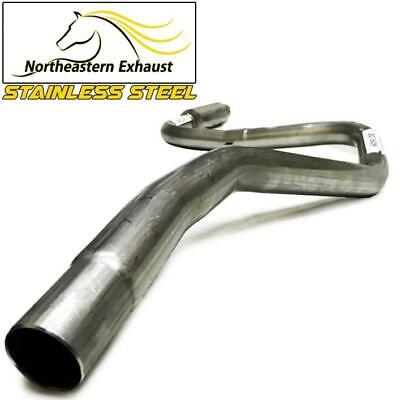 Stainless Steel Exhaust Muffler Tailpipe fits 1998-2002 Ford Escort ZX2