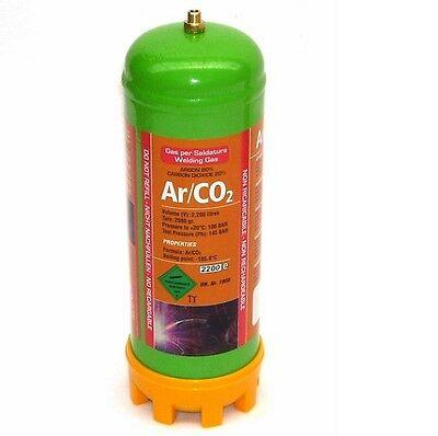3x Einweg Schutzgasflasche 2.2L CO2 51601 Argon Mischgas Gas Flasche Schweißgas