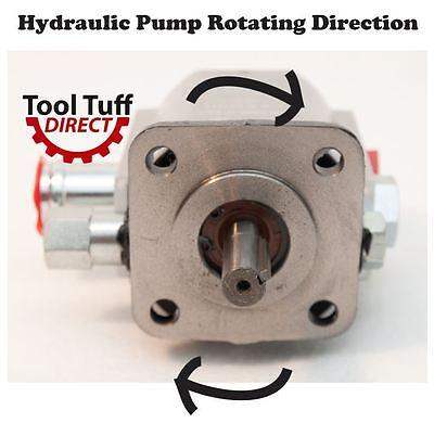 11 GPM Hydraulic Log Splitter Pump, 2 Stage Hi Lo Gear Pump, Logsplitter, NEW 12