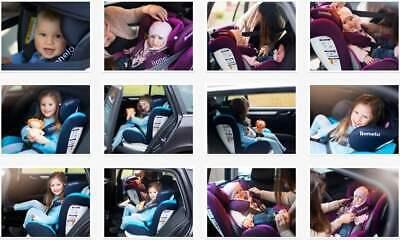 Siège Lionelo Bastiaan Isofix Bleu Bébé de Voiture Groupe 0 Iil Jusqu'à 36kg 9