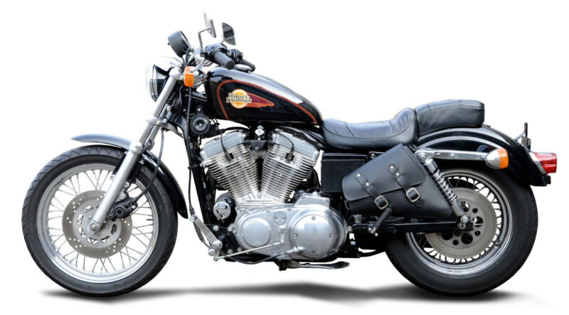 Buffalo Bag Satteltasche links Harley Sportster Roadster (2004-) Packtasche