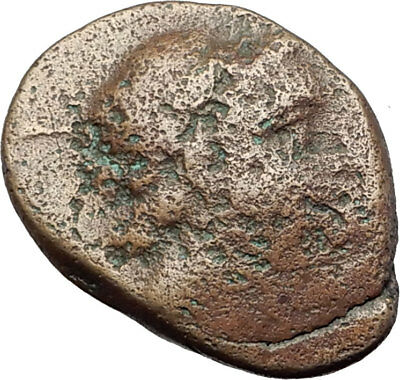 ANTIOCHOS II THEOS 261BC Ancient SELEUKID Greek Coin APOLLO TRIPOD ANCHOR i63757 2