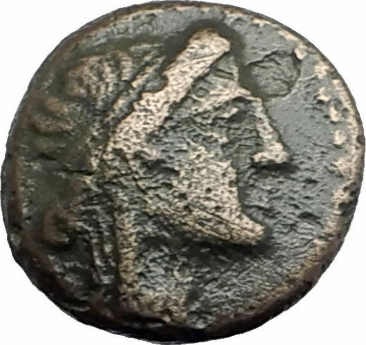 ODESSOS in THRACE 281BC Authentic Ancient Greek Coin w YOUTH & GREAT GOD i62613 2