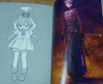 Last Exile Fam the Silver Wing settei sheets