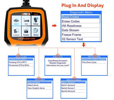 Ancel OBD2 EOBD Car Fault Code Reader Scanner Diagnostic Auto Engine Scan Tool 5
