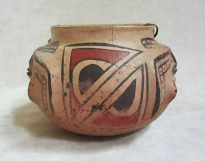 Pre-Columbian CASAS GRANDES POLYCHROME HUMAN EFFIGY VESSEL, ca. A.D. 1160-1260 2