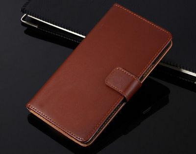 Genuine Leather Flip Wallet Case Cover For Samsung Galaxy S7 S8 S9 S10+ Note 8 9 8