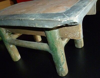 Fine Ming Dynasty Chinese Table with Two Vases and Four Offerings 8 • CAD $889.17
