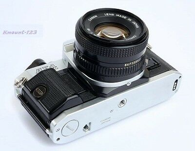 Canon AE-1 Program Camera Outfit with FD 50mm F/1.8 Lens - Great Conditions ! 4