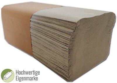 10000x Falthandtücher Papierhandtücher 25x23cm Handtuchpapier 1-lagig ZZ-Falz 2