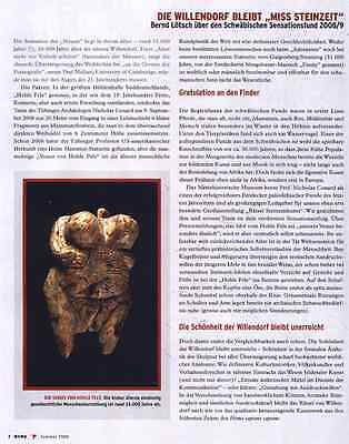 Venus from Hohle Fels cave (Germany) - cast 7