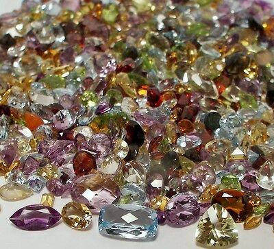 7e60884d367 ... 100+ Ct Mix Lot Loose Faceted Natural Gemstones Mixed Gems Wholesale  Loose Gem 6