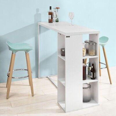 SoBuy® Table de Bar Murale Table Haute de Bar Mange Debout ...