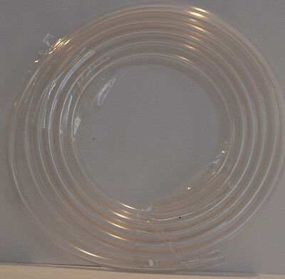 Clear Airline 4.9mm 6mm X 2  Metres ideal for copepods or rotifers cultivating