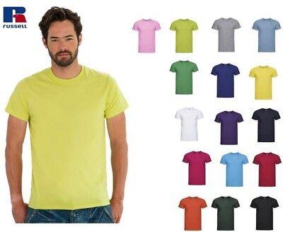 T-Shirt Maglietta Uomo Manica Corta Slim Russell R155-M Personalizzabile 2