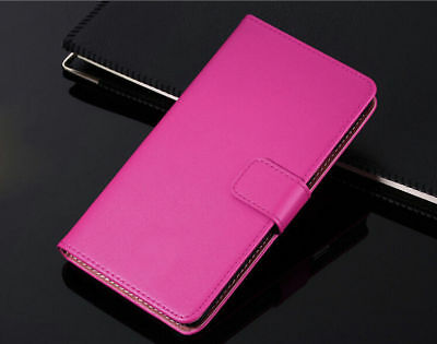 Genuine Leather Flip Wallet Case Cover For Samsung Galaxy S7 S8 S9 S10+ Note 8 9 11