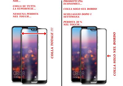 PELLICOLA VETRO TEMPERATO per Huawei P20 Lite/ P20/ P20 Pro 2018 3