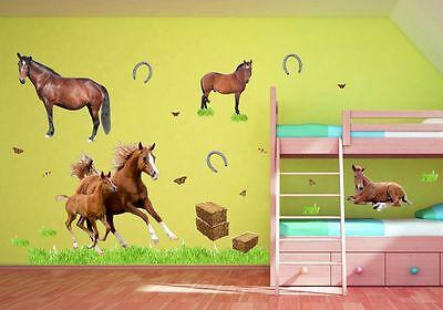 Wandtattoo pferd mit fohlen - Wandtattoo fur rauhfaser ...