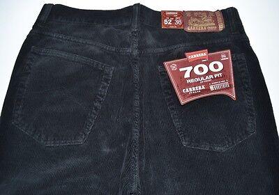 50 CARRERA PANTALONE UOMO 56 52 58 jeans righe 500 46 VELLUTO 54 48 I8g6qA8