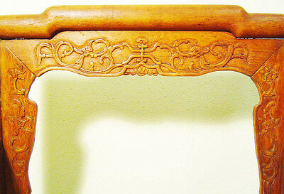 Antique Chinese Arm Chair (3062) , (Rose Chair), Circa 1800-1849 2