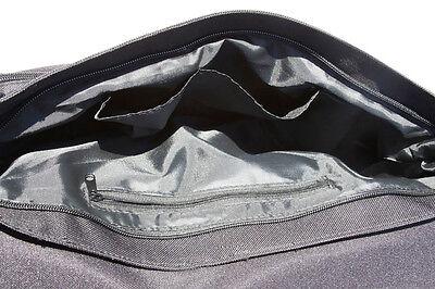 +++ ABESSINIER Katze - Schwarze COLLEGE TASCHE Collegetasche Handtasche - ABS 01 4