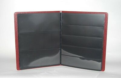 Stamps album. Perfect for strips and blocks, come with slip case - Black 4