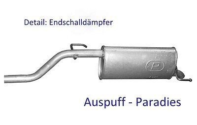 Auspuffanlage Auspuff Schalldämpfer/_Anlage  Skoda Octavia 1,4 1,6 ab Bj 96