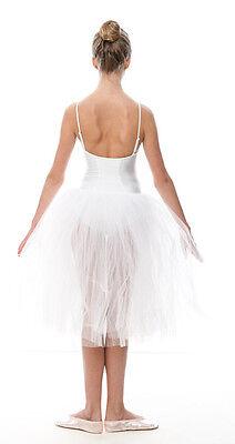 Da Ragazza Romantico Balletto Danza Tutu Da Dancewear Katz In Tutti I Colori 6