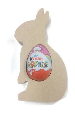 Kinder Egg Unicorn Head Holder Easter MDF18mm Freestanding Blank Craft Shape
