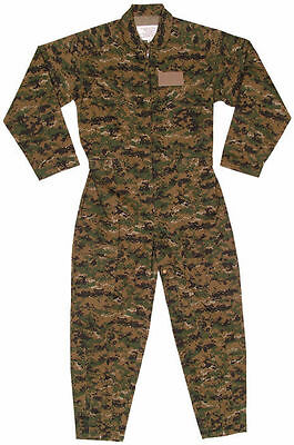 31148e67e4b ... OD Camouflauge Military Flight Suit Air Force Style Flight Coveralls  Choose Size 8