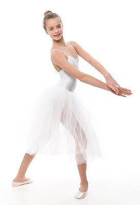Da Ragazza Romantico Balletto Danza Tutu Da Dancewear Katz In Tutti I Colori 4