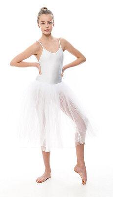 Da Ragazza Romantico Balletto Danza Tutu Da Dancewear Katz In Tutti I Colori 7