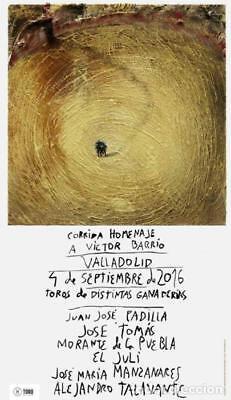 cartel Miquel Barceló , Granada 2019 2