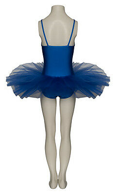 Donne Ragazze Blu Elettrico Balletto Danza Costume Tutu Outfit Da Katz 2