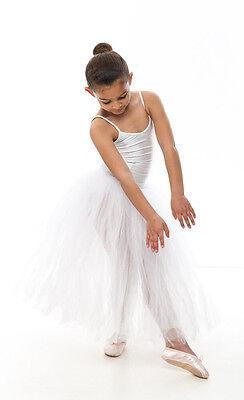 Da Ragazza Romantico Balletto Danza Tutu Da Dancewear Katz In Tutti I Colori 8