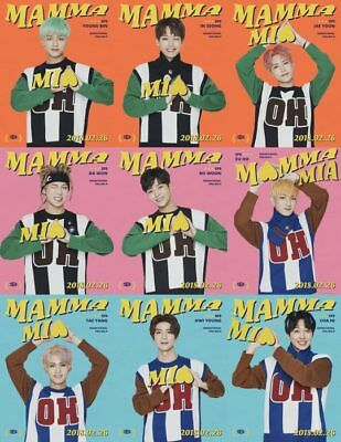 SF9-[Mamma Mia!] 4th Mini Album Special Edition CD+Booklet+PhotoCard+Mark+Gift 2